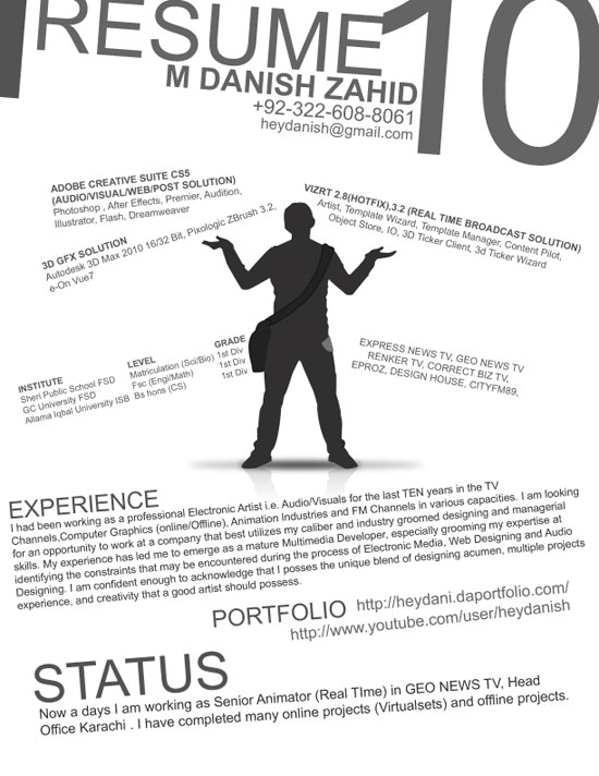 Examples of Professional Resumes