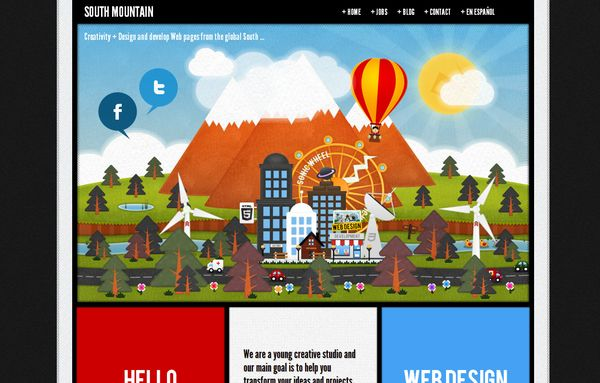 19 50 Inspirational Websites Powered By HTML5