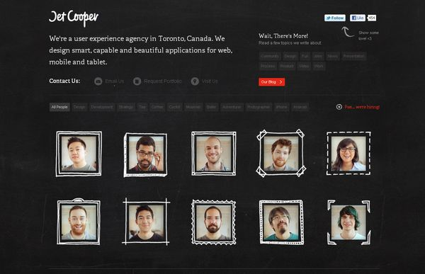 2 50 Inspirational Websites Powered By HTML5
