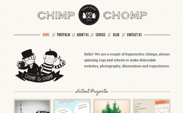 5 50 Inspirational Websites Powered By HTML5