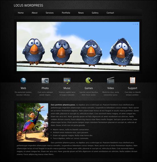 Locus - Responsive One Page WordPress Theme