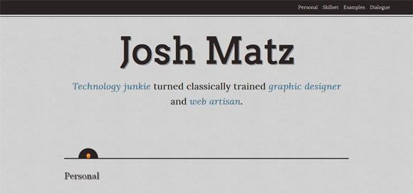 Fresh and New Portfolio Sites Design