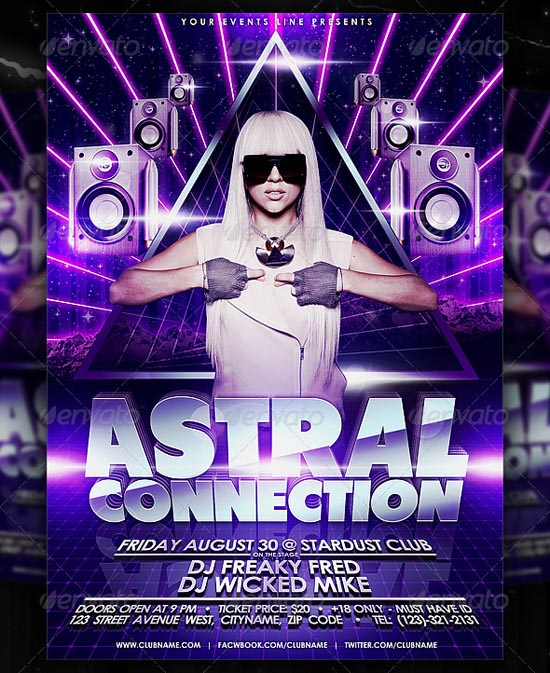 Astral Flyer Template
