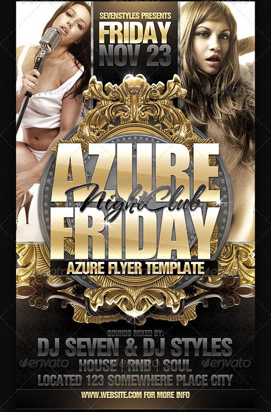 Azure Flyer Template