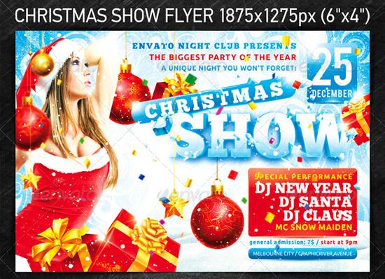 Christmas Show Flyer