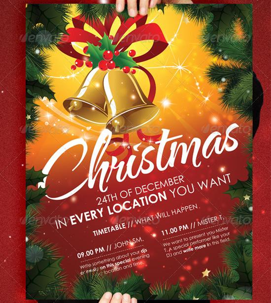 Christmas II Flyer Template