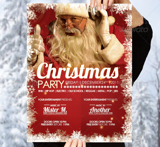Christmas Flyer Template by Foos