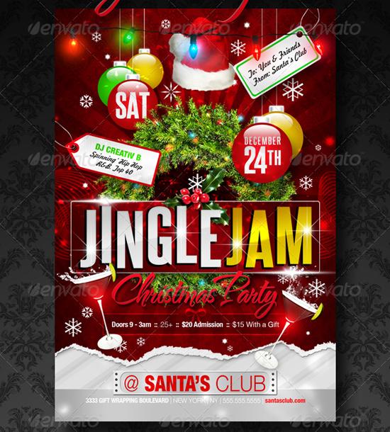 Jingle Jam Flyer Template