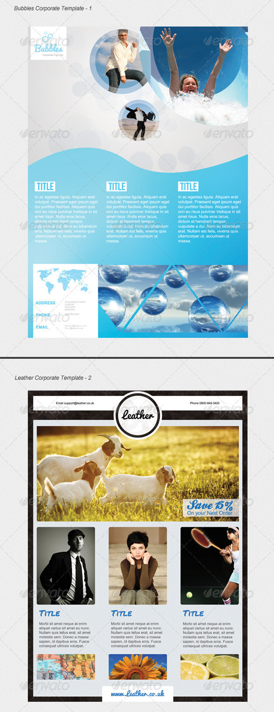 Corporate Flyer Template Preview