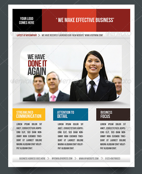 Top Corporate Business Flyer Templates Pixelscom - Business advertising flyers templates free