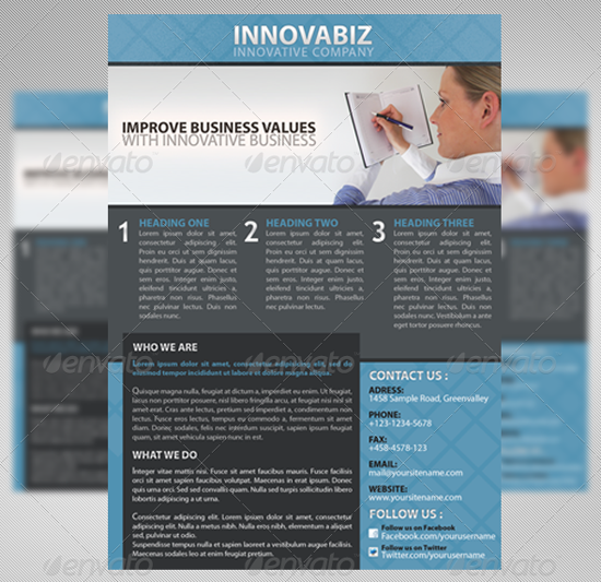 Innovation Corporate Flyer Template