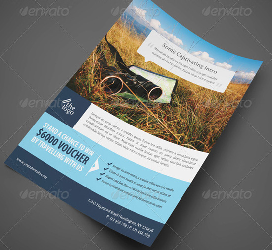 Travel Corporate Flyer