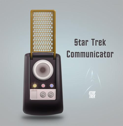 Create a Star Trek Style Communicator in Photoshop