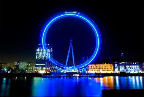 London Eye Long Exposure photography