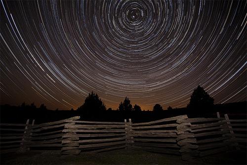 Monument, Oregon long exposure photography