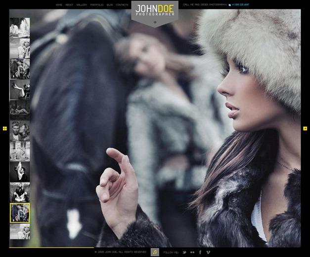 J.Doe Responsive Photography WordPress Theme