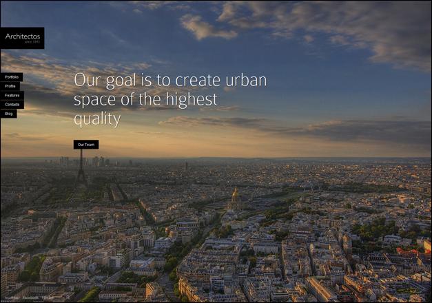 Architectos - Blog & Portfolio WordPress Theme