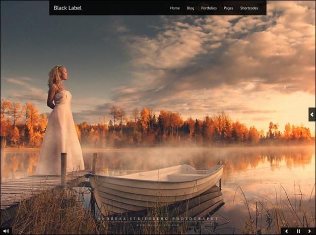 Black Label – Full Screen Video & Image Background