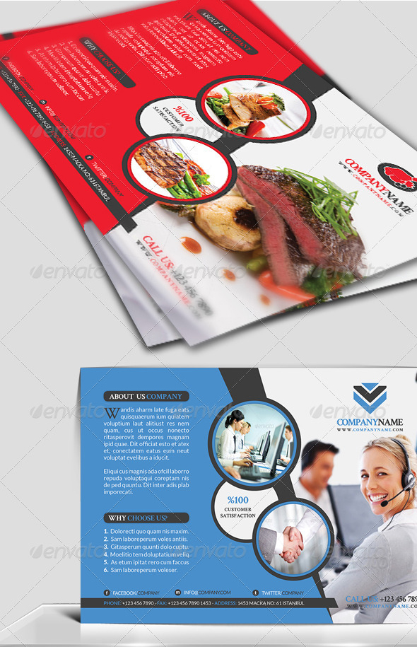 Business Flyer Template Vol 5