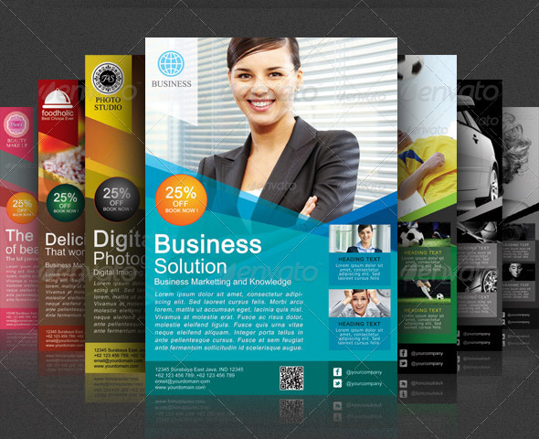 Best corporate and business flyer template 56pixels modern business flyer template accmission Image collections