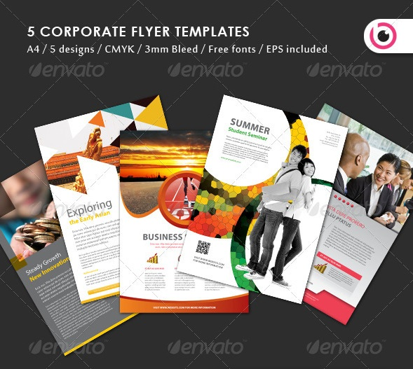 5 flyer design templates