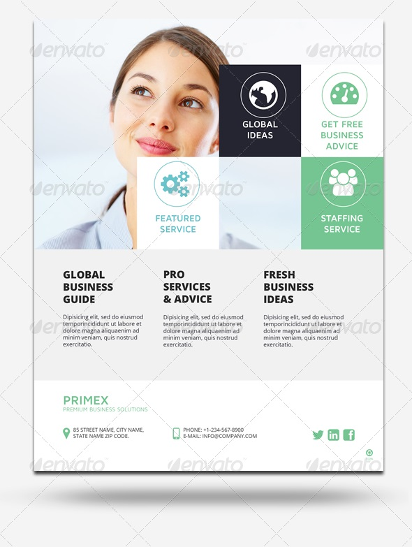 business ad flyer vol. 4