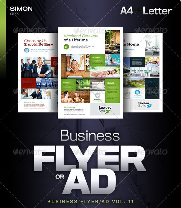 business flyer/ad vol. 11