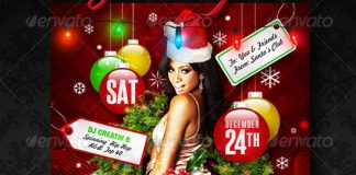 jingle-jam-christmas-party-flyer