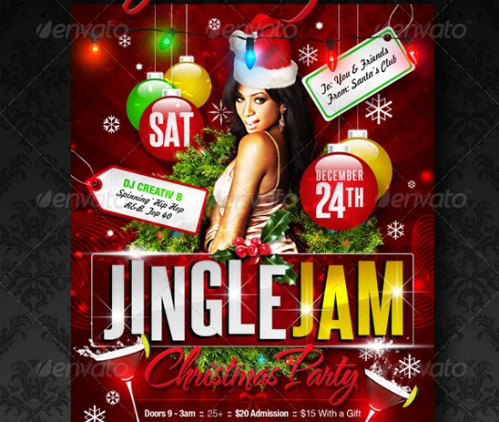 jingle-jam-christmas-party-flyer