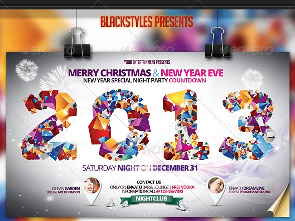 Christmas & New Year Eve Flyer
