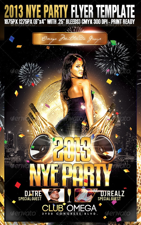 30 best new year flyers of 2013
