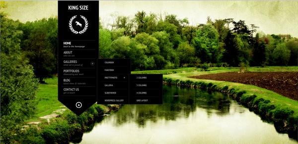 full screen portfolio wordpress theme 12
