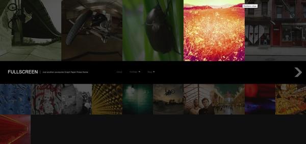 full screen portfolio wordpress theme 2