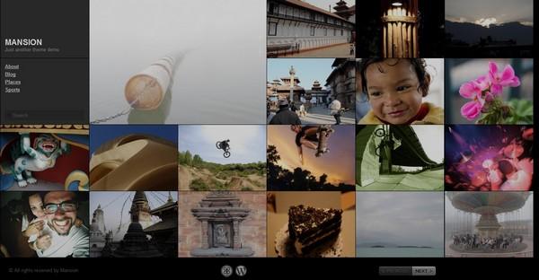 full screen portfolio wordpress theme 7