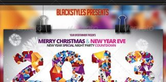 Christmas-New-Year-Eve-Flyer