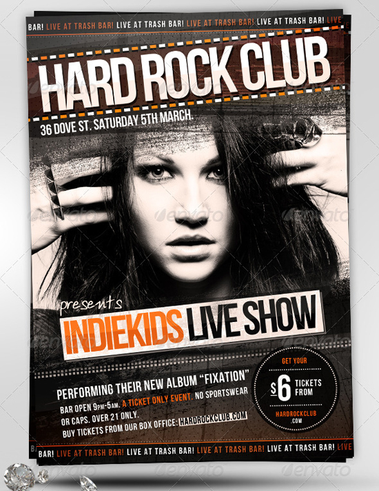 Indie Club Party Flyer Template