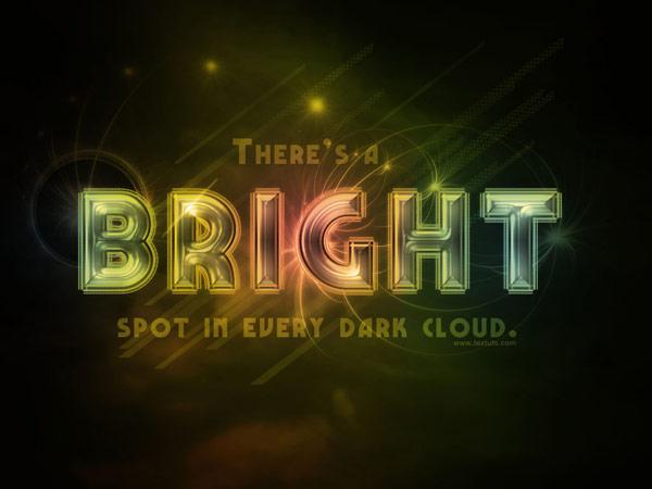 photoshop text effect tutorials