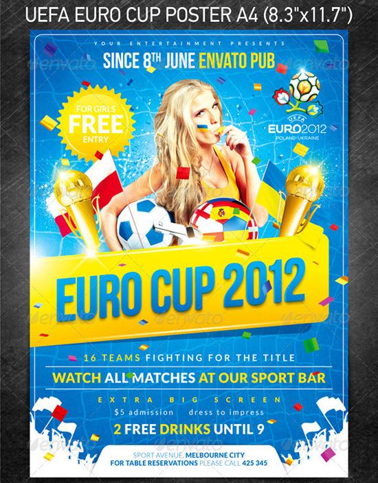 Eufa Euro Cup Flyer Template