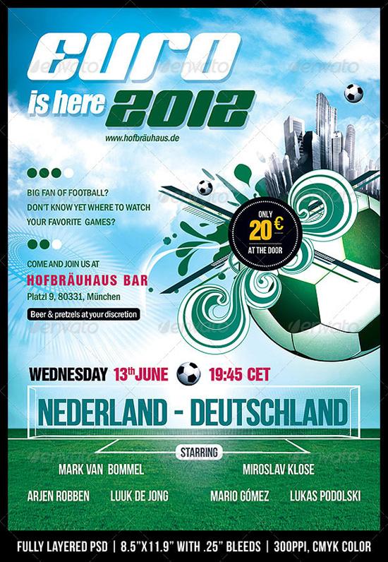 Tournament Flyer Design Top 20 Soccer Football Templates 56pixels