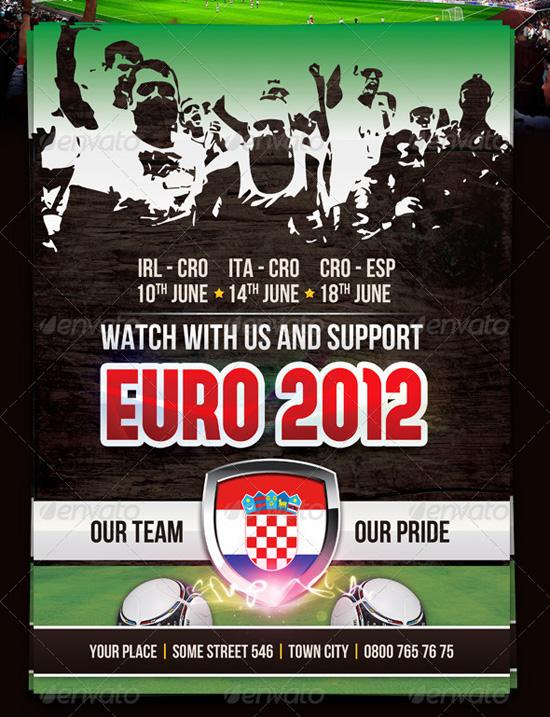 Euro 2012 Soccer Flyer Template