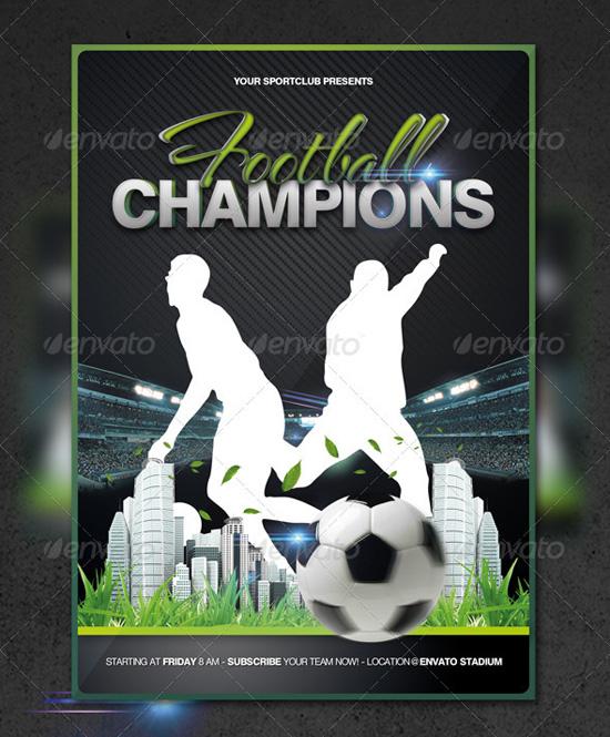 top 20 soccer football flyer templates