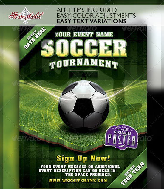 Top 20 Soccer Football Flyer Templates 56pixels Com