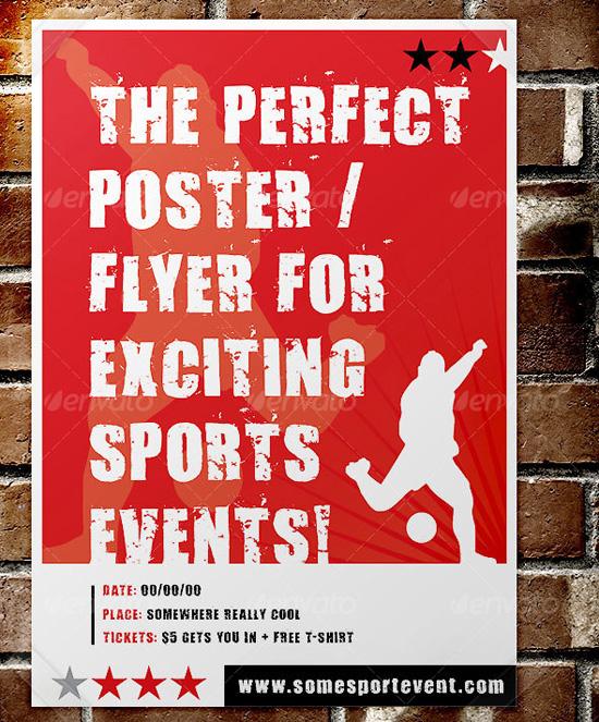Sport event Poster Flyer Template