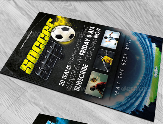Sports Cup Flyer Template