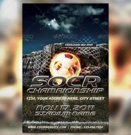 Ultimate Soccer Flyer Template