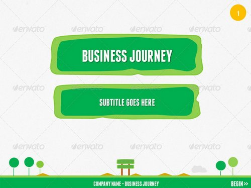 fresh and new powerpoint templates 4