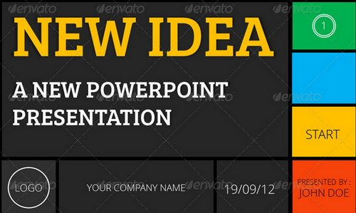 fresh and new powerpoint templates 5