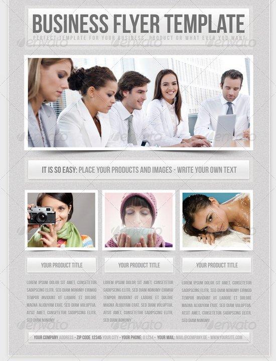 business flyer template 12