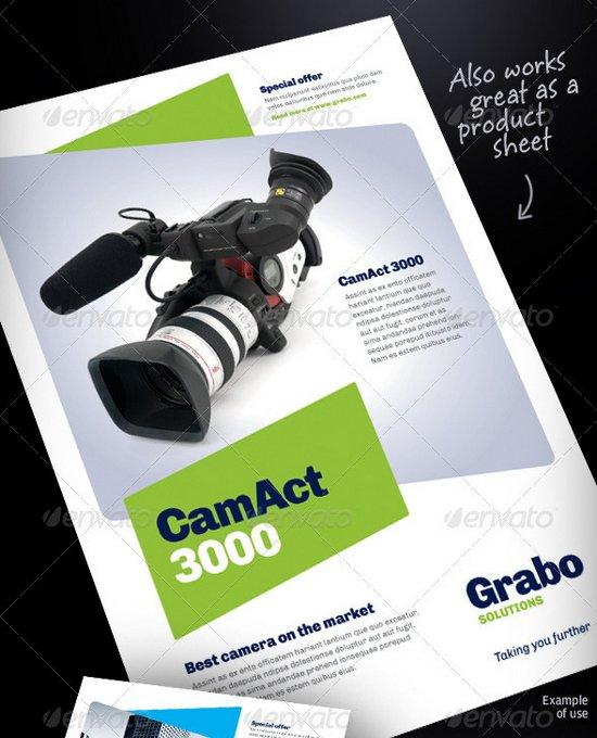 business flyer template 16