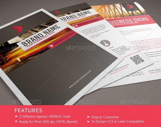 business flyer template 21